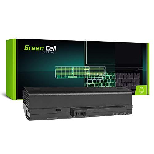 Green Cell Extended Serie UM08A31 UM08B31 UM08A73 Laptop Akku für Acer Aspire One 571 A110 A150 D150 D250 KAV60 ZG5 (12 Zellen 8800mAh 11.1V Schwarz)