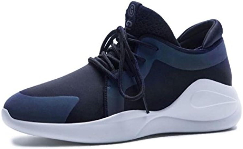GAOLIXIA Zapatos deportivos de cuero para mujer Primavera verano Zapatos planos con cordones Zapatos ligeros Correr...