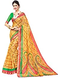 Design Willa Women's Silk Cotton Saree With Blouse Piece (Samu3234_Multicolor)
