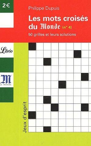 Mots croisés : Tome 4, 50 grilles et leurs solutions