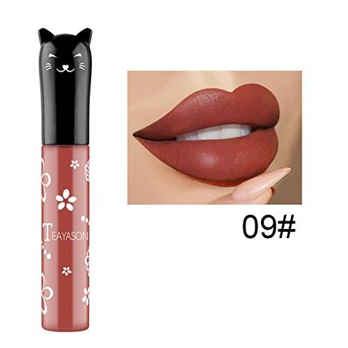 Lippenstift, Lipgloss, Matte Liquid Lipstick, Lippe Gloss,TTLOVE Kosmetik Und KüRbis Farbe...