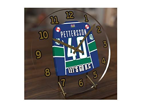 MyShirt123 NHL National Hockey League-Western Konferenz-Pacific Division Trikot-Uhren-Jeder Name, beliebige, jedes Team, kostenlose Personalisierung. Vancouver Canucks