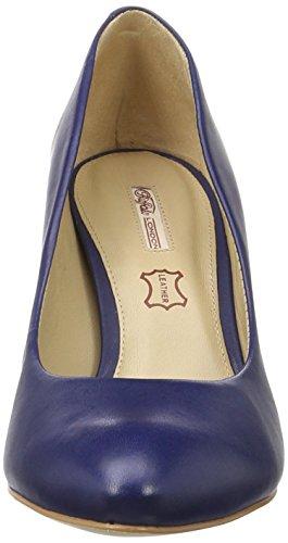 Buffalo 111714i Vegetal, Escarpins Femme Bleu (Indigo 01)