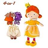 labebe Ragazza prescolare 4-in-1 Principessa Vestire Set / Regalo, Bambola Gioco di Ruolo, fingere Giocare a Giocattoli - Annie