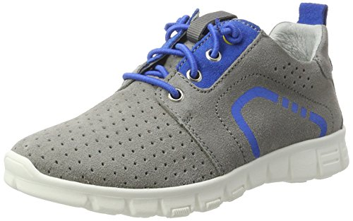 Richter Kinderschuhe Jungen Run Low-Top Grau (rock/lagoon)