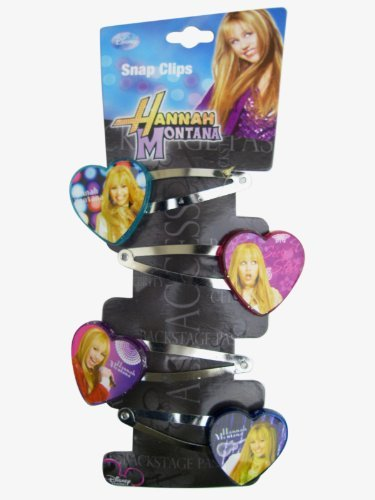 disney-hannah-montana-4pc-hair-snap-clips-with-4-heart-charms-toy