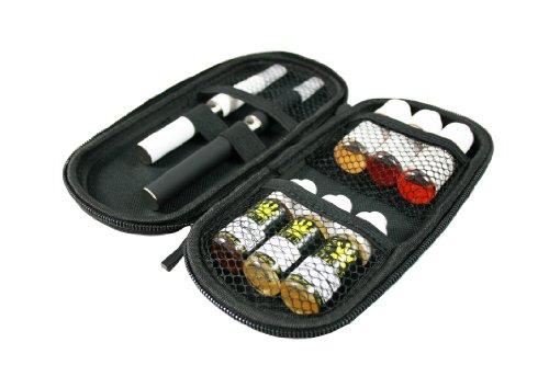 eGo-T Tasche , E-Zigaretten Etui, Big Case, E-Case, Tasche für Elektro Zigaretten + 6 Liquids von 4Smoker
