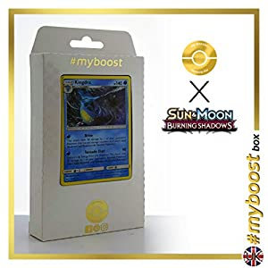 Kingdra 31/147 Holo - #myboost X Sun & Moon 3 Burning Shadows - Box de 10 Cartas Pokémon Inglesas