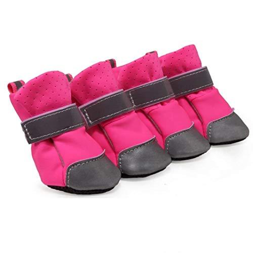 Donad Kleine Hund pet Sandalen Schuhe weiche reflektierende befestigungsriemen Aufkleber für Sommer weiche Sohle Wanderschuhe Stiefel