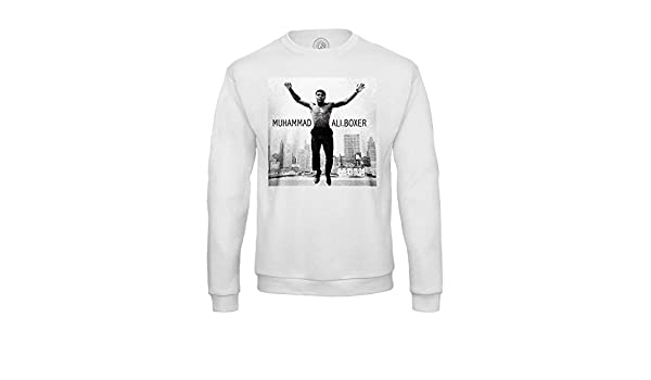 Fabulous Sweat Shirt Homme Mohamed Ali Boxer de Legendes