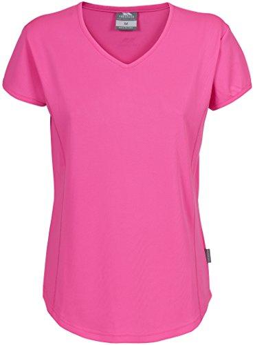 TRESPASS - T-Shirt Femme - Trickle Active T-Shirt W Rose HiViz Pink