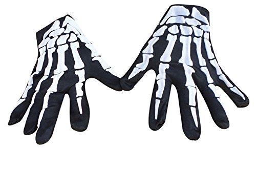 New Journey Full Finger | Guantes Negros | Skeleton