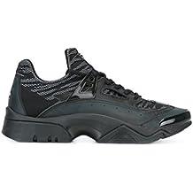 Kenzo Homme M57041H16 Noir Cuir Baskets Montantes 108fc858fd9