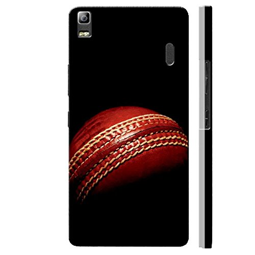 SHAIVYA Designer Soft Cover Having Excellent Printing Leather Ball Cricket TPU (Rubber) Printed Back Cover Compatible with Lenovo K3 Note
