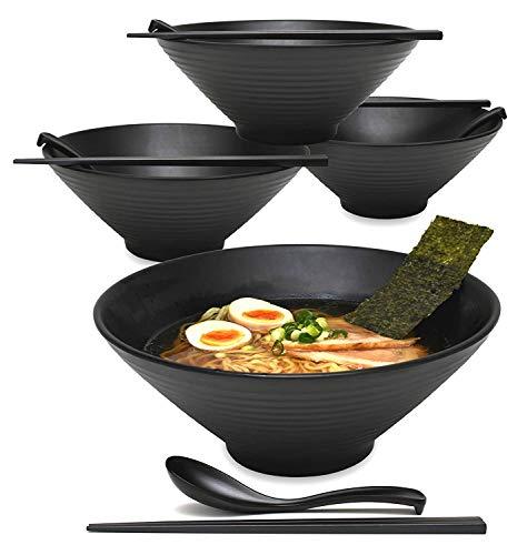 Ramen Noodle - Cuenco para sopa negro