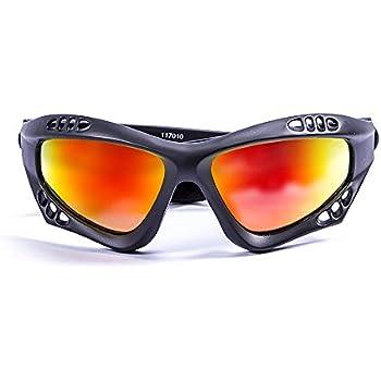Ocean Sunglasses Australia - Gafas de Sol polarizadas - Montura : Negro Mate - Lentes : Amarillo Espejo (11701.0)