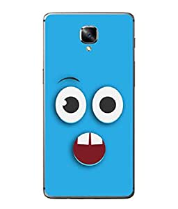 PrintVisa Designer Back Case Cover for One Plus 3T (Love Lovely Attitude Men Man Manly)