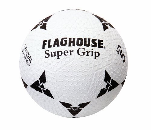 FlagHouse Super Grip Soccer Ball, Size 5 by FlagHouse -