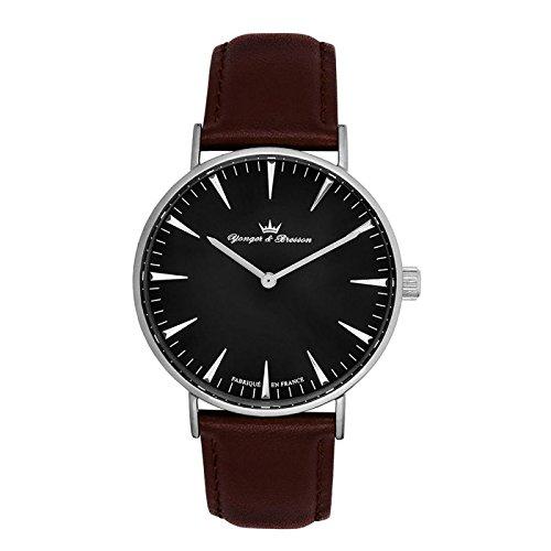 Reloj Yonger & Bresson hombre negro–HCC 075/AU