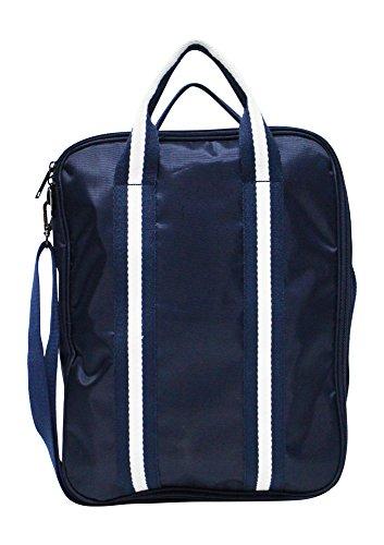 Kronya® | Faltbare Reisetasche mit viel Stauraum und Gurt | Groß Handgepäck Koffer Kulturbeutel Kulturtasche Reisekoffer Rollen Sport Tasche Trolley Umhängetasche | Damen Herren (Dunkelblau)