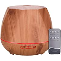 Humidificadores Bebes,Humidificador De Niebla Ultrasónica De 550 Ml Con Temporización y Función De Apagado Automático -CKEYIN
