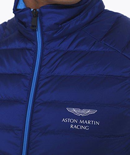 Hackett Hommes Aston Martin Racing vers le bas du Gilet Marine Marine