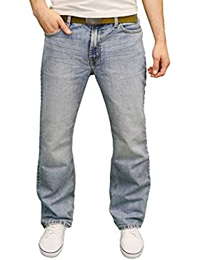 FB jeans da uomo designer regular fit bagagliaio taglio jeans W/free Belt