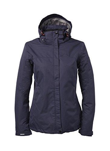 Killtec Regen-Funktions Outdoor Jacke Damen Inkelea, Farbe:Dunkelnavy, Größe:48