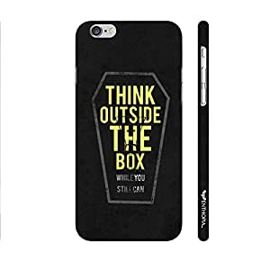 Apple Iphone 6 Think outside the box designer mobile hard shell case by Enthopia