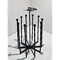 DCB Fabrication Butterfly Welly Boot holder/boot storage/boot rack Carousel (5 pairs)