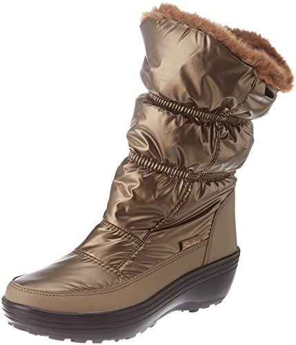 Skechers Damen Alaska Stiefel, Braun (Bronze), 39 EU (Skechers Stiefel Winter)