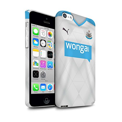 Offiziell Newcastle United FC Hülle / Matte Snap-On Case für Apple iPhone 5C / Pack 29pcs Muster / NUFC Trikot Away 15/16 Kollektion Fußballer