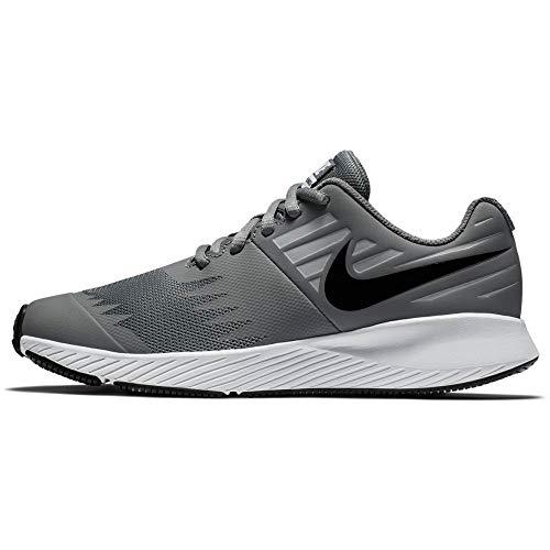 Nike Jungen Star Runner (GS) Traillaufschuhe, Mehrfarbig (Cool Grey/Black-Volt-Wolf Grey 006), 39 EU