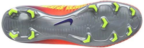 Nike Jr Mercurial Superfly V Fg, Scarpe da Calcio Unisex – Bambini Multicolore (Deep Royal Blue/total Crimson/bright Citrus/chrome)