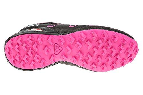 GIBRA® Damen Sportschuhe, sehr leicht und bequem, schwarz/pink, Gr. 36-41 Schwarz/Pink