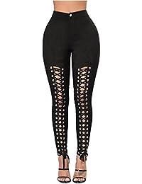 DE Frauen-Schlangen-Druck-Hosen-hohe Taillen-Ausdehnungs-dünne Bleistift Hosen