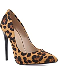 La Modeuse 53252 - Zapatos de Vestir de Sintético Mujer