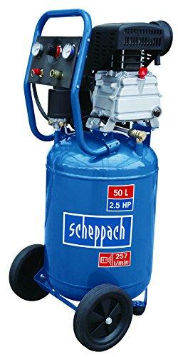 Scheppach Kompressor HC50S, 230 V, 50 Hz, 1800 W, 1 Stück, blau / schwarz, 5906116901