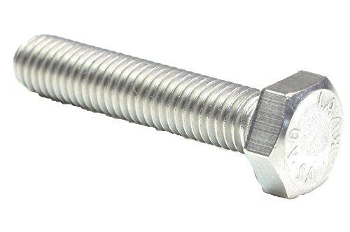 1 Stück Sechskantschrauben DIN933/ISO4017 -M12x80 -A2 Edelstahl