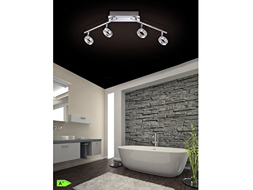 Paul-Neuhaus-Lampada-da-soffitto-in-alluminio-60-Watt