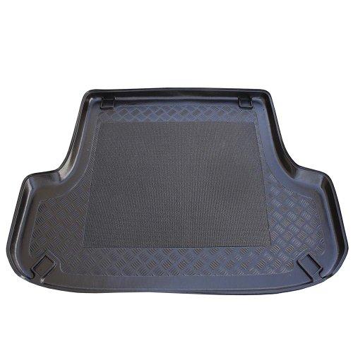 ZentimeX Z902720 Vasca baule su misura con superficie scanalata e integrato tappeto antiscivolo