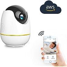 Camara IP HD de 720p, Netvue WiFi Wireless Home Seguridad Cámara con Audio de Dos Vias, Smart Deteccion de Movimiento, Camara de Vision Nocturna, Para Bebé/Anciano/Home Security/Monitor de Mascotas