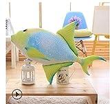 Yuhualiyi123 20/40/60 cm Cuscino di Pesce Crucian Peluche ripiene Animale Piccolo Pesce Giocattolo Bambole di Cartone Animato Giocattoli for Bambini Regali for Feste di San Valentino 18