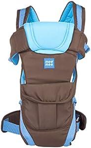 Mee Mee Light Weight Baby Carrier (Lightweight Breathable, Light Blue)