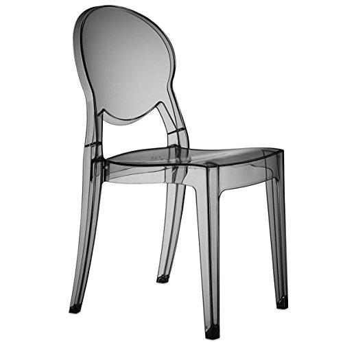Scab Design Set 4 sedie Igloo Chair Colore Fumè trasparente