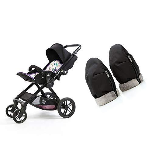 Manoplas carro bebé | Guantes protección contra