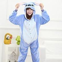 MH-RITA El animal entero pijamas para Unicornio adulto pijama de franela para cosido Unicorn