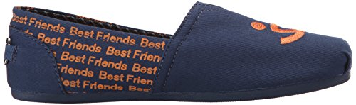 Bobs Da Skechers Bobs per i cani peluche Slip-On piano Best Friends Navy
