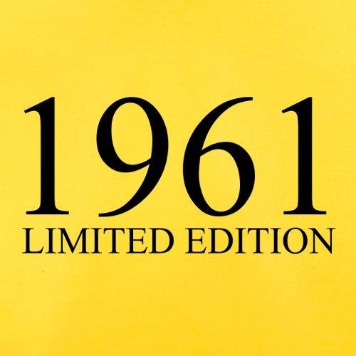 1961 Limierte Auflage / Limited Edition - 56. Geburtstag - Herren T-Shirt - 13 Farben Gelb