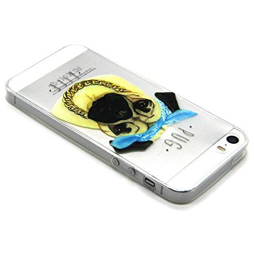 Voguecase® Per Apple iPhone 6,6S (4.7 Pollici) Custodia fit ultra sottile Silicone Morbido Flessibile TPU Custodia Case Cover Protettivo Skin Caso (Pink Lady) Con Stilo Penna SharPei 02